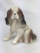 Vintage Worn Cocker Spaniel Dog Figurine Made in Japan-Ceramic-Porcelain 3�