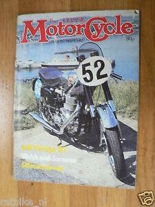 CLASSIC MOTORCYCLE 1982-AUG/SEPT,DOUGLAS,VINCENT,BSA C25,NSU KONSUL 500CC,AJS,MC