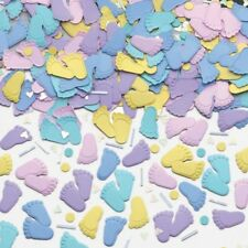 Baby Shower Confetti Sprinkles Baby Party Table Decorations Pitter Patter Feet
