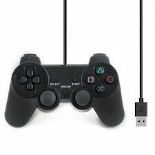 Dual Vibration Gamepad Shock JoyPad Controller für PC Kabel USB Joystick 08