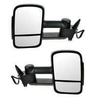 Towing Mirrors Power Adjustable w/Turn Signals No-Heated for FORD RANGER 2012-On