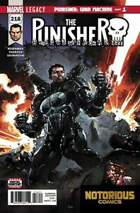 Punisher #218 Marvel Comics 1st Print EXCELSIOR BIN +