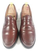 Allen Edmonds 'Cole' Mahogany Penny Loafers Mens 9 D Shoes