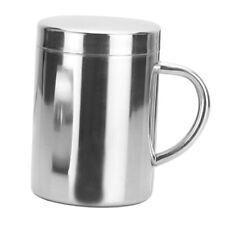 Travel Mug 14oz Insulated Double Wall Cup Tea Coffee Take Away Cold Glass