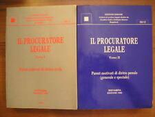 IL PROCURATORE LEGALE pareri motivati diritto civile Simone 2 volumi