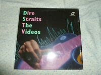 laserdisc pal - dire straits -  the videos . rare