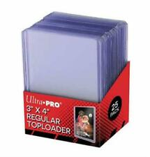 Ultra Pro - 3 x 4 Inch Toploaders Clear 25 Pack