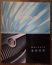 MERCURY MYSTIQUE ORIG 2000 USA inchiostri SALES BROCHURE