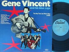 Gene Vincent & Blue Caps ORIG US LP Bop that just won't stop (1956) EX Rockabill