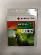 AGFAPHOTO Brother LC123Y LC123 Y Cartridge Yellow