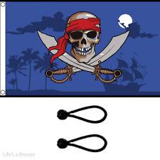 PIRATE Bandana 3x2 Flag Pirates of the Caribbean Kids party//fun Ships Boats bnip