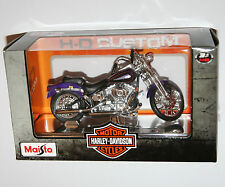 Maisto - Harley Davidson 2001 FXSTS Springer Softail - Model Scale 1:18
