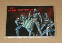 STAR WARS THE CLONE WARS RISE OF THE BOUNTY HUNTERS P3 PROMO CARD TOPPS 2010