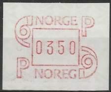 Noorwegen postfris automaatzegels 1986 MNH A3 (09)
