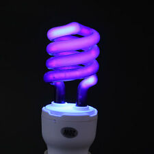 E27 20W Ultraviolet Fluorescent Blacklight Small Screw Lamp Light Bulb Sterilize