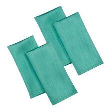 In seta sintetica color foglia di tè 4 confezioni Tovaglioli in Poliestere elegante accessorio da cucina Festa Pasti