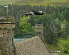 Lancaster Bomber - Low Pass over Derwent Dam - 16th May 2008