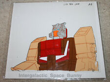 Original Japan Transformers Anime Cel Animation Art Headmasters Chromedome