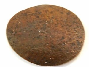 Flattened Thin Unreadable Penny