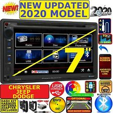 CHRYSLER JEEP DODGE POWER ACOUSTIK BLUETOOTH USB AUX CAR RADIO STEREO PKG