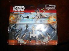 Star Wars Micro Machines Trench Run Disney Hasbro X-Wing Luke Skywalker
