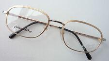 St. Moritz Luxus-Titanbrille bicolor breiter Metallrand leicht 53-20 Marke sizeL