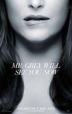 Fifty Shades of Grey (2015) Movie Poster 24x36 - Jamie Dornan, Dakota Johnson v2