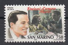 1996 SAN MARINO L. 750 STORIA DELLA CANZONE DE SICA PARLAMI D'AMORE MARIU' MNH**