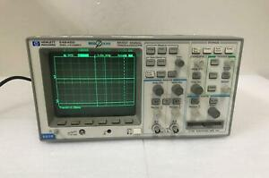 HEWLETT PACKARD HP 54645D MEGA-ZOOM MIXED SIGNAL OSCILLOSCOPE 100 MHz