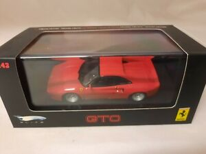 Hot Wheels Elite Ferrari 288 GTO 1984 rossa red 1/43 P9928