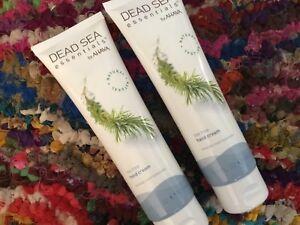 Lot of 2 Dead Sea Essentials® by Ahava Tea Tree Hand Cream 5.1 oz. each