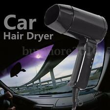 12V Foldable Car Travel Caravan Accessory Portable Window Camping Hair Dryer AU