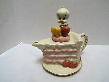 Lenox Looney Toons Tweety Bird Figurine Teapot 2005