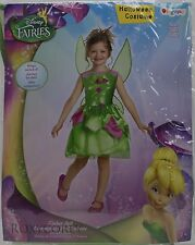 Halloween Disney Fairies Tinkerbell Dress Up Costume Size Medium 7-8 NWT