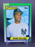 1990 Topps Bernie Williams New York Yankees RC Rookie #701 Centered