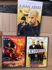 Vin Diesel Dvd Lot - A Man Apart, Knock Around Guys, Xxx