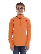 CMP Sweatshirt Function Top Orange Collar Stretch Softech half Zip