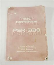 Yamaha PSR-330 Portatone Digital Keyboard Original Owner's Manual Book