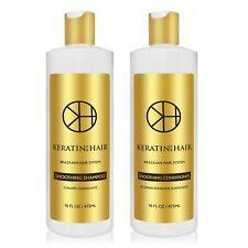 Keratin For Hair Sulfate Free Shampoo Conditioner Sulfate Free 16 fl oz Set