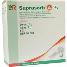 SUPRASORB A+Ag Antimik.Cal.Alginat Tamp.30 cm 2 g 5 St
