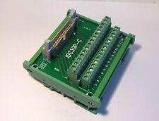 IDC-30 Male Header Breakout Board Screw Terminal Adaptor DIN rail mounting