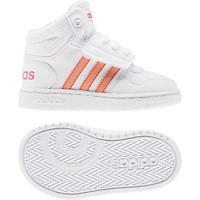 Adidas Shoes Kids Sneakers Fashion School Sports HOOPS MID 2 Infants Girl EE6716
