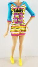 Mattel Barbie Doll Sporty Fashionistas Malibu Dress Fashion Outfit Hooded Dress
