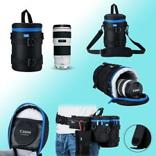 113x215mm Lens Pouch Water Resistant Padding Nikon 70-200mm 80-200 JJC DLP-5II