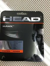 1 Sets Head Hawk Tennis String 16 Gauge 1.30m Grey