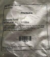 Teavana  Limeade Twist NEW  Factory Sealed 2 LB