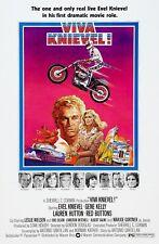 Evel Knievel VIVA KNIEVEL! (1977) 35mm ACTION film trailer