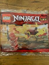 LEGO 30083 Ninjago Dragon Fight with Kai Minifig NEW & Sealed Polybag Promo Set