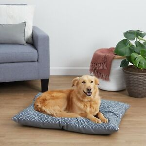 Vibrant Life Pillow Style Dog Bed for Large Dogs, Large, Grey