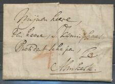 BRIEF 'S GRAVENHAGE 23 DEC 1776 - ALMKERK, VERTREKST. 'S HAAGE EN GESCHRE- ZH374